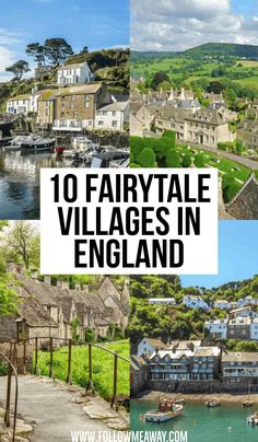 10 Pretty English Villages Out of a Fairytale : 10 Fairytale Villages In England Beautiful Places To Visit, Cool Places To Visit, Places To Travel, Beautiful Places In England, Travel Destinations, English Villages, Europa Tour, Travel Photographie, England Countryside