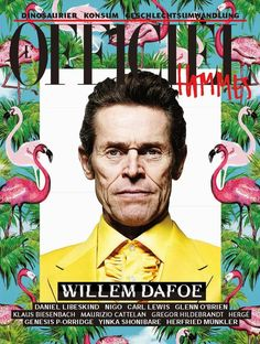 willem dafoe photos 001 Willem Dafoe Models Bright Spring Colors for LOfficiel Hommes Germany Cover Story