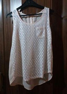 Kup mój przedmiot na #vintedpl http://www.vinted.pl/damska-odziez/topy-koszulki-i-t-shirty-inne/20532934-przezroczysta-bluzka-w-kolorze-pudrowego-rozy-rozmiar-ml