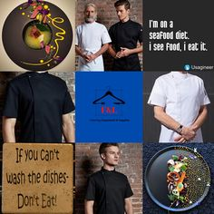 F&L Catering Suppliers where the chef is always right. The number one place for unique chef attire with attitude. High quality and delivered straight to your door. Long sleeve, short sleeve chef jacket. Mens, Womens, & Unisex Chef jackets, Chef trousers, chef hats & aprons.New fashion chef jackets for best chefs in 2020. Summer Sale Up To 30%Off Sgin Up Today Get 20% Off Chef Hats, Seafood Diet, Letter To Yourself, Catering Equipment, I Appreciate You, Best Chef, Big Family, How To Get Rich, Number One