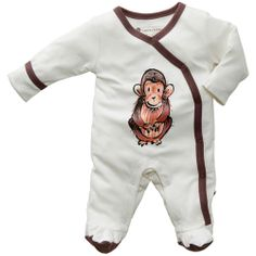 Janey Baby Footie by BabySoy at BabyEarth.com, $26.95 3-6 MONTHS RABBIT