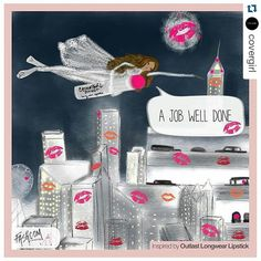 @covergirlxo   Conquering the world one kiss at the time  • #comic #fashionblogger #fashioncomic #kisses #love #lips #lipstick""