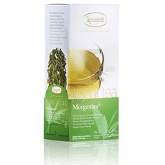 Joy of tea Morning Dew teabags - extra large teabags made to neatly fit on your handle of your cup. Also known as Morgentau. This is the same tea and similar teabag format to Ronnefeldt LeafCup Morgentau (Morning Dew) Sencha Tea, Mango, Morning Dew, Green Dragon, Coconut Water, Tea Time, Coffee, Food, Sweets