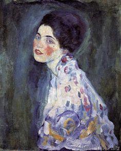 Gustav Klimt - Damenporträt