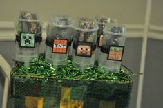 Minecraft Party Favors #minecraft