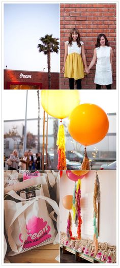 the cream event la | geronimo balloons