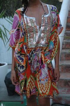 Silk tunic Helibazar Ibiza