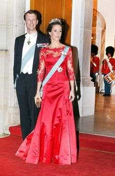 Princess Marie wore this tiara for the dinner during the Turkish State Visit in March 2014.