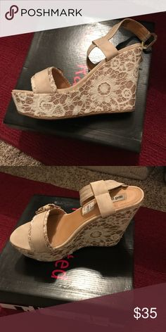 Not rated size 7.5 from buckle Excellent condition not rated size 7.5 from buckle Not Rated Shoes Wedges
