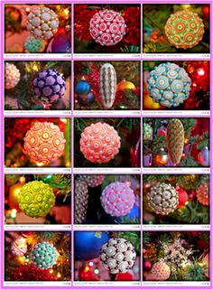 Inez Quilling Art: Ornaments