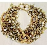 Bracelet - Gold Intertwined