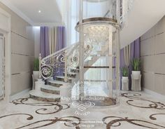 Stair Elevator, Elevator Design, Concrete Stairs, Internal Design, Mansion Interior, Woman Cave, Staircase Design, Girl Room, Future House