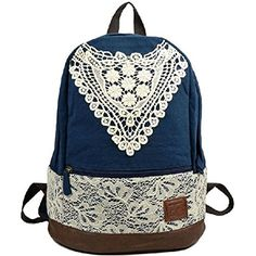 Samaz 2014 Fashionable Outdoor Canvas Backpack for Girls Korean Lace School Backpacks for Teen girls Women(Blue) Samaz http://www.amazon.com/dp/B00RD6NYHK/ref=cm_sw_r_pi_dp_s1qUvb1QMTKZ4