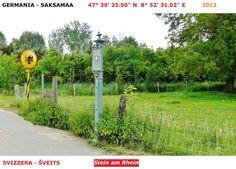 Confini amministrativi - Riigipiirid - Political borders - 国境 - 边界: 2012 CH-DE Šveits-Saksamaa Svizzera-Germania