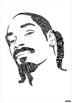 Snoop Dogg type design by Seanings