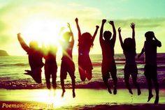Friends / via Favim Summer Beach Party, Pink Summer, Beach Fun, Summer Of Love, Summer Days, Summer Vibes, Summer Fun, Summer 2014, Summer Dream