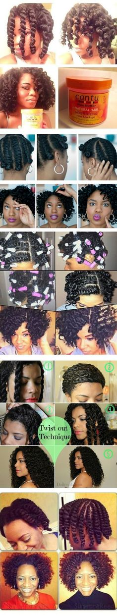 Perfect flat twist outs