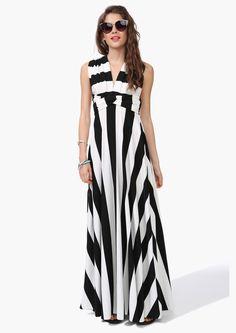 Stripe Changeable Maxi Dress   Shop for Stripe Changeable Maxi Dress Online