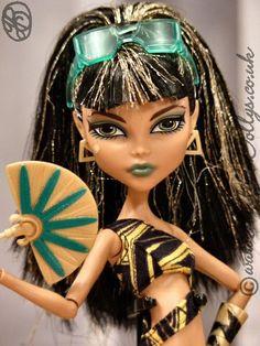 CLEO DE NILE | Monster High Gloom Beach Cleo De Nile Doll | Flickr - Photo Sharing!