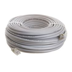 100ft White cat5e Ethernet Cable for linksys D-link Router 100' 100 ft by Computzoutlet. $4.70. For fast ethernet and gigabit computer networks that require Enhanced Category 5 cabling for voice/data/video distribution. This cable will handle bandwidth-intensive applications up to 350 MHz. Meets all Cat5E TIA/EIA standards, and drastically reduces both impedance and structural return loss (SRL) when compared to standard 100 MHz wire.  Constructed from high-quality...