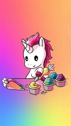 HD kawaii wallpapers - Cute backgrounds images -A new wallpapers App with beautiful pictures of Cute kawaii pictures ! Real Unicorn, Unicorn Horse, Unicorn Art, Rainbow Unicorn, Unicornios Wallpaper, Kawaii Wallpaper, Kawaii Drawings, Cute Drawings, Chibi Kawaii