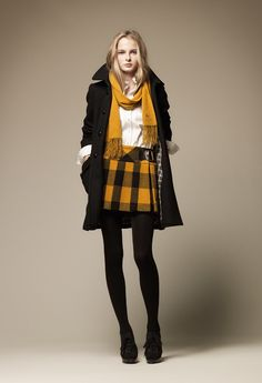 Burberry Blue Label Fall Collection 2011