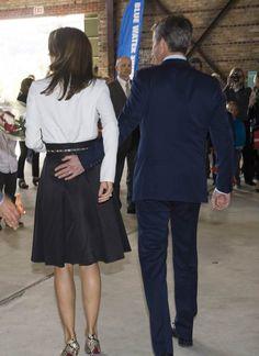 A Federico y Mary de Dinamarca se les escapa el amor #realeza #royalty