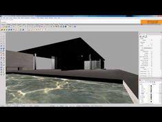 08 HDRI lighting [Vray for Rhino] - Barcelona Pavilion Conceptual Model Architecture, Pavilion Architecture, Rhino Render, Vray Tutorials, Barcelona Pavilion, Software, Environment, Lighting, Youtube