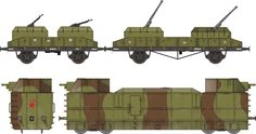 polish armoured train - Google Search