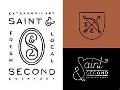 saint and second logo