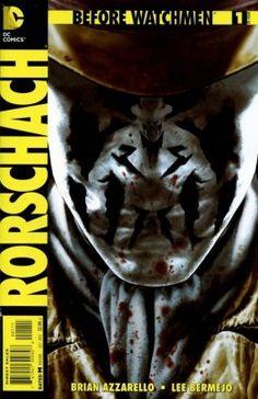 Met Before Watchmen: Rorschach #1 begint ook de populairste Watchman aan zijn eigen vierdelige miniserie. U gebracht door Brian Azzarello en Lee Bermejo…