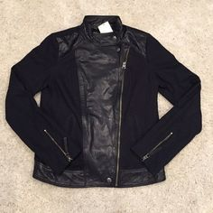 Selling this Lucky Brand!  Leather Jacket in my Poshmark closet! My username is: the_lex_factor. #shopmycloset #poshmark #fashion #shopping #style #forsale #Lucky Brand #Jackets & Blazers