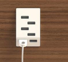 Bolt USB Outlet by Jeffrey Pettit