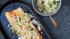 Slow-Roasted Char with Fennel Salad Recipe | Bon Appetit
