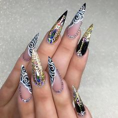 """3,469 Likes, 7 Comments - Ugly Duckling Nails Inc. (@uglyducklingnails) on Instagram: """"Beautiful nails by @nailsbysueuna ✨Ugly Duckling Nails page is dedicated to promoting quality,…"""""""