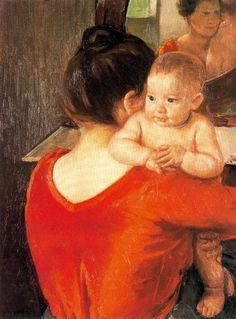Mary Cassatt - Mother and Child, 1900