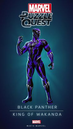 Black Panther: King of Wakanda. Marvel Comics Art, Avengers Comics, Marvel Heroes, Wakanda Marvel, Ps Wallpaper, Marvel Animation, Marvel Cards, Black Panther Marvel, Marvel Entertainment
