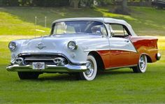 1954 Oldsmobile 98 Starfire!!(spunky & bandit). (160 pieces)