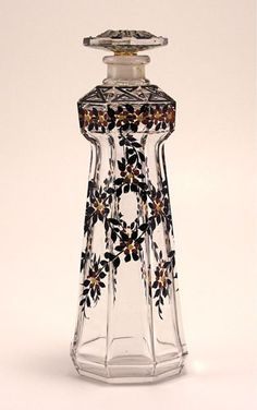 Perfume Bottle Pictures and Values: Gravier Baccarat Perfume Bottle