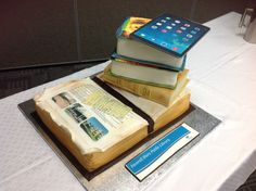 The amazing book cake for our birthday celebrations