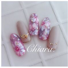 Wedding Nail Art Designs For Brides Japanese Nail Design, Japanese Nail Art, Fall Nail Designs, Cute Nail Designs, Beautiful Nail Art, Gorgeous Nails, Bridal Nails, Wedding Nails, Cute Nails