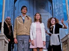 Pin for Later: 30 of Our Favorite Spooky Movie Couples Janet and Brad, The Rocky Horror Picture Show