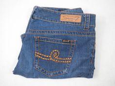 397c91a0837 Seven 7 Premium Women s Denim Boot Cut Jeans Sz 14 Gentle Wash RN 109890