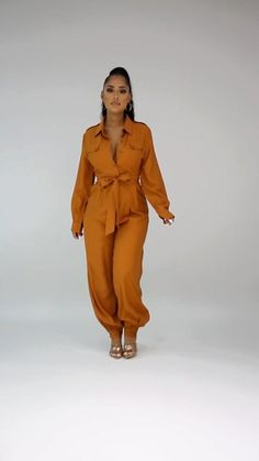 Colored Pants, Fashion Beauty, Fashion Tips, Palazzo, Ankara, Plus Size Outfits, Jumpsuits, Classy, Couture