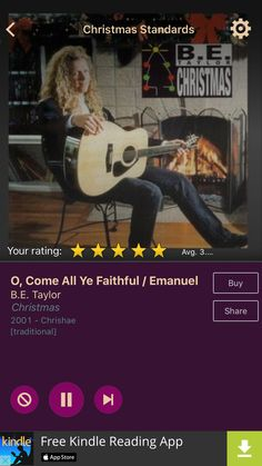 O, Come All Ye Faithful / Emanuel by B.E. Taylor on AccuRadio