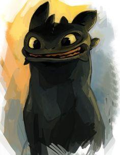 Night Fury Toothless Plush