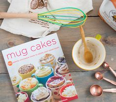 Mug cake recipe book might need to check out!