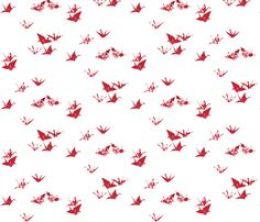 just_the_birds fabric by johanna_design on Spoonflower - custom fabric