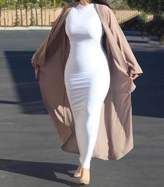 Who's ready for a in our White Luster Maxi Dress? 🙌🏻💁🏻‍♀️ They'll be restocked sooner than expected, & we're super excited for… Modern Hijab Fashion, Muslim Women Fashion, Modesty Fashion, Islamic Fashion, Abaya Fashion, Fashion Dresses, Modest Outfits, Classy Outfits, Chic Outfits