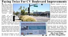 """Paying Twice For CV Boulevard Improvements - The Castro Valley Municipal Advisory Council ( CVMAC ) want to make sure Castro Valley Boulevard receives the correct enhancements promised in the $9 million """"streetscape"""" project. """"Overall, we got cheated to the tune of $700,000,"""" said CVMAC chair Marc Crawford …"""